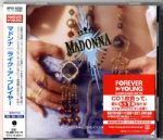 LIKE A PRAYER - JAPAN (FOREVER YOUNG 2016) CD ALBUM